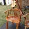 Yew chair.