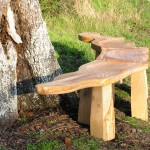 Pear Tree Rustic Bench