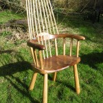 Highback Welsh stick chair. From £900.