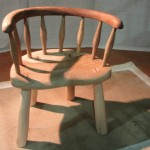 Kids chair in Ash & Elm. From £200.