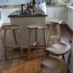 Example of Cradley stools in background.
